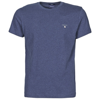 Clothing Men Short-sleeved t-shirts Gant THE ORIGINAL T-SHIRT Marine / Mix