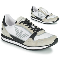 Shoes Men Low top trainers Emporio Armani EMPAGNO White
