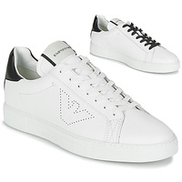 Shoes Men Low top trainers Emporio Armani BELGA White