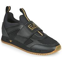 Shoes Men Low top trainers Emporio Armani EA7 CALMONI Black