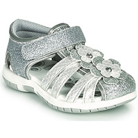 Shoes Girl Sandals Chicco FIORDALISO Silver