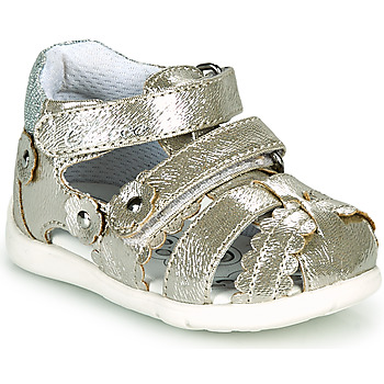 Shoes Girl Sandals Chicco GORY Gold