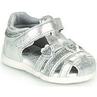 Shoes Girl Sandals Chicco GUENDY Silver