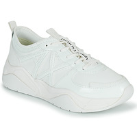 Shoes Women Low top trainers Armani Exchange ALBA White