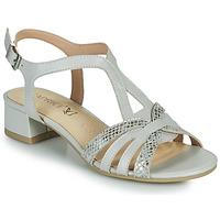 Shoes Women Sandals Caprice 28201-233 Beige