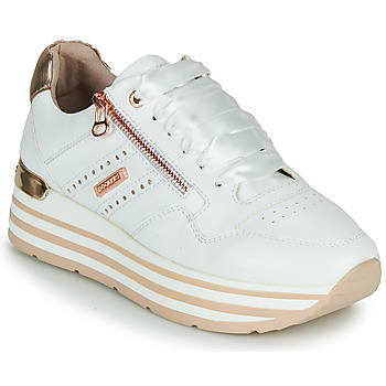 Shoes Women Low top trainers Dockers by Gerli 44CA207-592 White