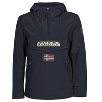 Clothing Men Parkas Napapijri RAINFOREST SUMMER POCKET Marine