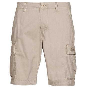 Clothing Men Shorts / Bermudas Napapijri NOSTRAN Beige