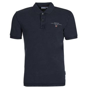Clothing Men Short-sleeved polo shirts Napapijri ELBAS 4 Marine
