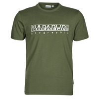 Clothing Men Short-sleeved t-shirts Napapijri SALLAR SS Green