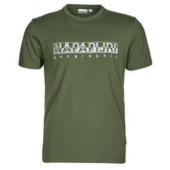 Clothing Men Short-sleeved t-shirts Napapijri SALLAR SS Green