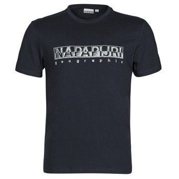 Clothing Men Short-sleeved t-shirts Napapijri SALLAR SS Marine