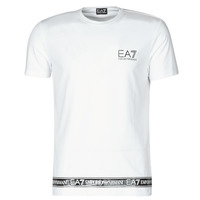 Clothing Men Short-sleeved t-shirts Emporio Armani EA7 3KPT05-PJ03Z-1100 White