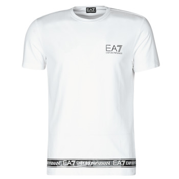 Clothing Men Short-sleeved t-shirts Emporio Armani EA7 3KPT05-PJ03Z-1100 White