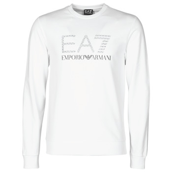 Clothing Men Sweaters Emporio Armani EA7 3KPMD7-PJ2SZ-1100 White