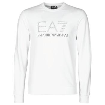 Clothing Men Sweaters Emporio Armani EA7 3KPMD7-PJ2SZ-1100 White