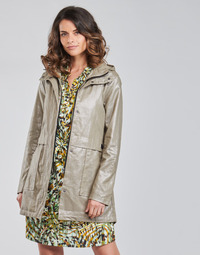 Clothing Women Parkas One Step DIEGO Silver