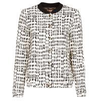 Clothing Women Jackets / Blazers One Step MADANY Ecru / Black