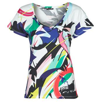 Clothing Women Short-sleeved t-shirts One Step MONA Multicolour