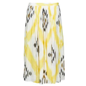Clothing Women Skirts One Step JOSEPHINE Yellow / Multicolour