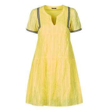 Clothing Women Short Dresses One Step ROYA Yellow