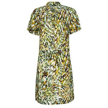 Clothing Women Short Dresses One Step RAINBOW Green