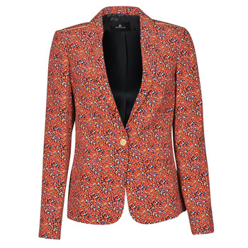 Clothing Women Jackets / Blazers One Step VINNY Red / Multicolour