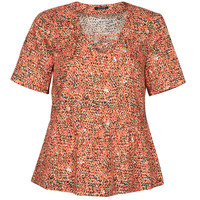 Clothing Women Tops / Blouses One Step CARA Red / Multicolour