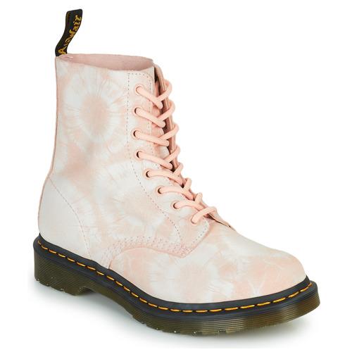 Shoes Women Mid boots Dr Martens 1460 PASCAL Beige
