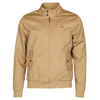 Clothing Men Jackets Teddy Smith SANSON Beige