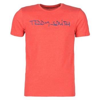 Clothing Men Short-sleeved t-shirts Teddy Smith TICLASS Red