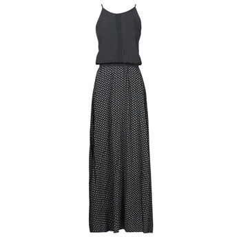 Clothing Women Long Dresses Rip Curl ISLAND LONG DRESS Black