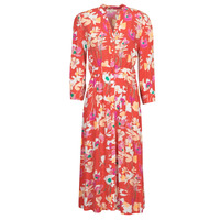 Clothing Women Long Dresses Rip Curl SUGAR BLOOM DRESS Red