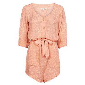 Clothing Women Jumpsuits / Dungarees Rip Curl TALLOWS SPOT ROMPER Peach