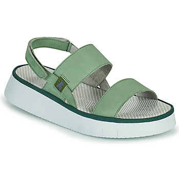 Shoes Women Sandals Fly London CURA Green