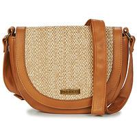 Bags Women Shoulder bags Rip Curl PARADISE PALMS SIDEBAG Beige / Cognac