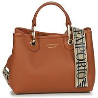 Bags Women Handbags Emporio Armani BORSA SHOPPING Brown