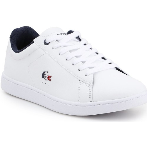 Shoes Women Low top trainers Lacoste Carnaby Evo 119 7 SFA 7-37SFA0016407 white, navy