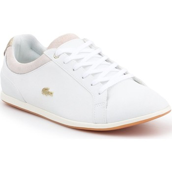 Shoes Women Low top trainers Lacoste Rey Lace 119 1 CFA 7-37CFA003706B white, beige