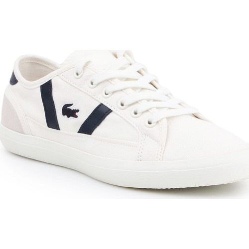 Shoes Women Low top trainers Lacoste Sideline 119 1 CFA 7-37CFA0042WN1 white, navy