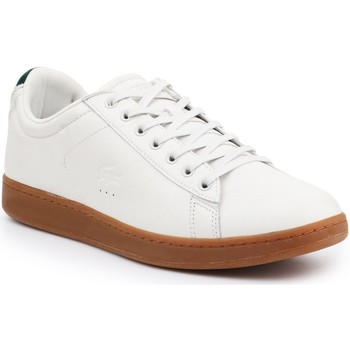 Shoes Men Low top trainers Lacoste Carnaby Evo 5 SRM 7-30SRM4002098 beige