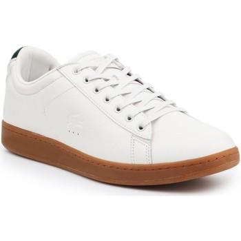 Shoes Men Low top trainers Lacoste Carnaby Evo 5 SRM 7-30SRM4002098 beige