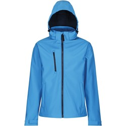 Clothing Men Jackets Professional VENTURER Waterproof Softshell Jacket Blue