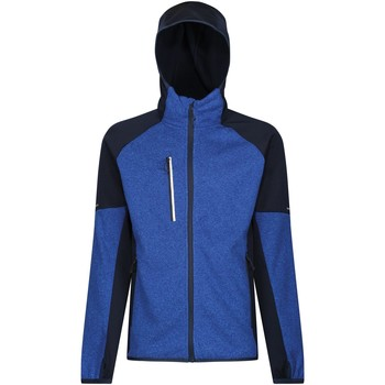 Clothing Men Jackets Professional X-PRO COLDSPRING II Full Zip Fleece Oxford Blue Marl Navy Blue Blue