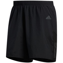 Clothing Men Shorts / Bermudas adidas Originals Own The Run Cooler 7 Black