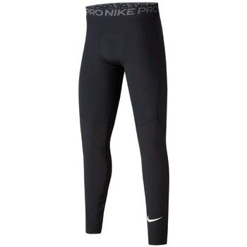 Clothing Boy Tracksuit bottoms Nike JR Pro Tight Black