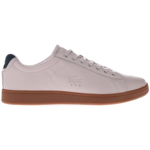 Shoes Men Low top trainers Lacoste Carnaby Evo 5 Pink