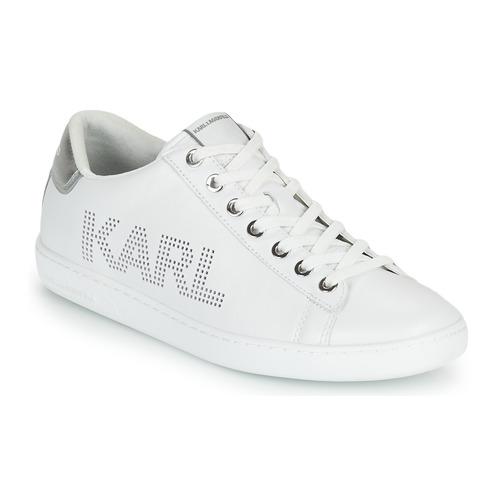 Shoes Women Low top trainers Karl Lagerfeld KUPSOLE II KARL PUNKT LOGO LO White