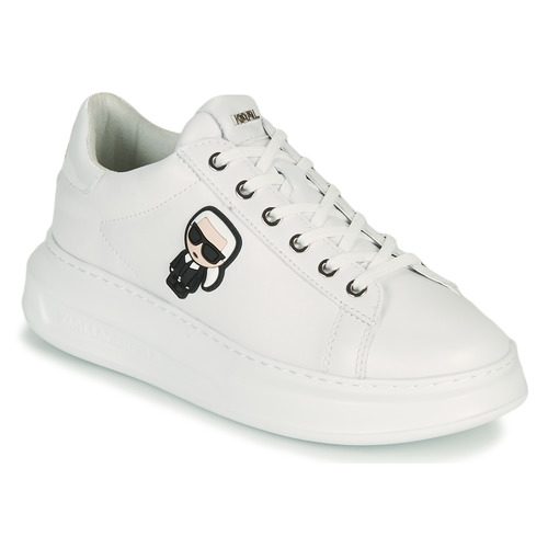 Shoes Women Low top trainers Karl Lagerfeld KAPRI KARL IKONIC LO LACE White