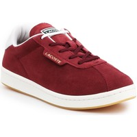 Shoes Women Low top trainers Lacoste Masters 319 1 SFA 7-38SFA00032P8 burgundy